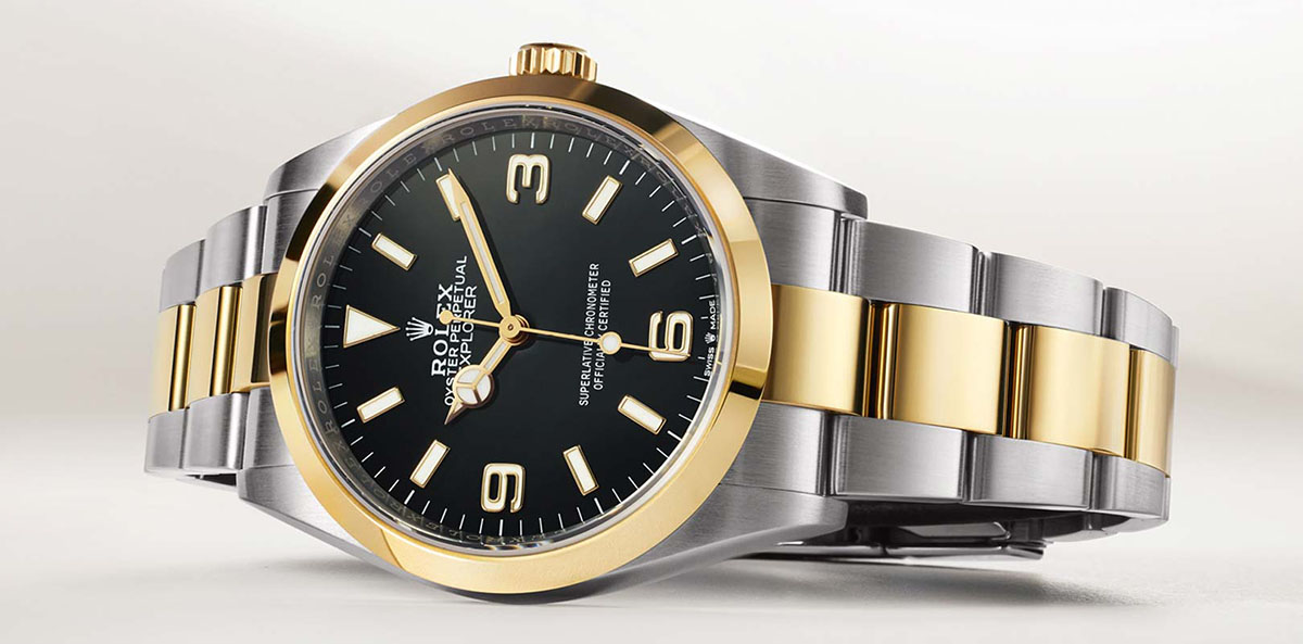 Nuovo Rolex Oyster Perpetual Explorer